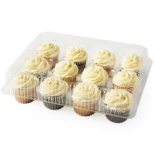Cream Cheese Iced Assorted Cupcakes, 12-Count