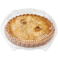No-Sugar-Added Peach Pie
