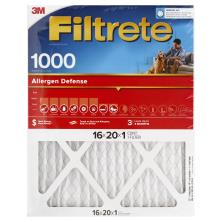 3m Filtrete Air Cleaning Filter, Micro Allergen Reduction 16x20x1