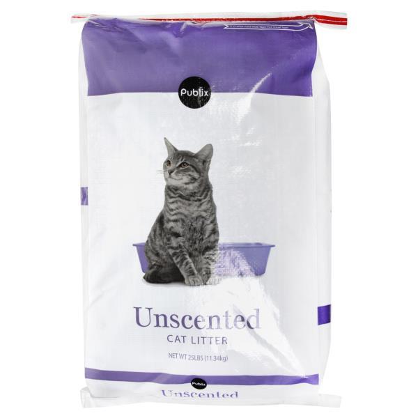 Publix Cat Litter, Unscented