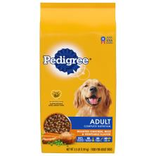 Pedigree Food for Dogs, Roasted Chicken, Rice & Vegetable Flavor, Adult Complete Nutrition