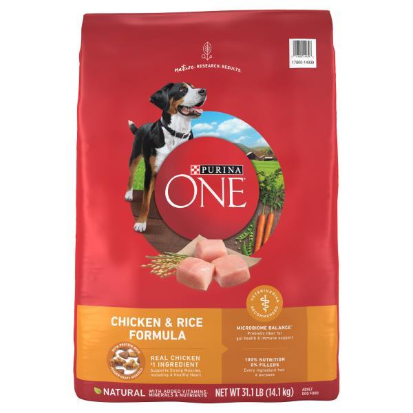 Purina One Smartblend Dog Food Adult Premium Chicken Rice