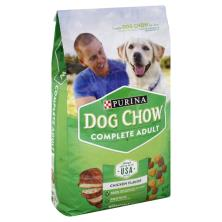 Dog Chow Dog Food, Complete Adult, Chicken Flavor