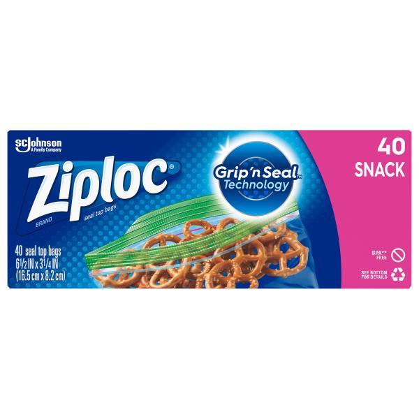 Ziploc Bags Snack