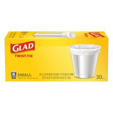 Glad Trash Bags, Small, 4 Gallon
