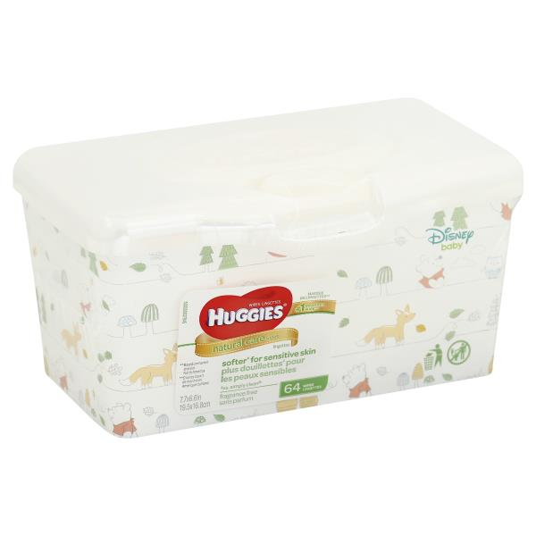Huggies Natural Care Wipes, Fragrance Free, Disney Baby