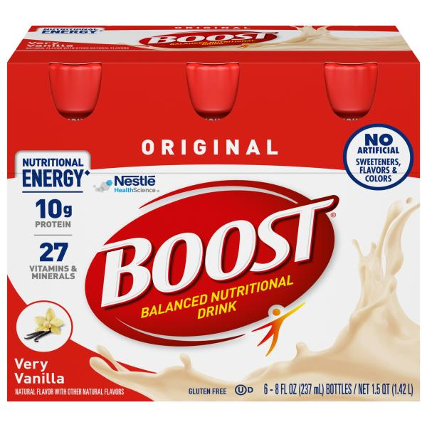 Amazon Com Boost Original Complete Nutritional Drink: Boost Nutritional Drink, Complete, Original, Very Vanilla