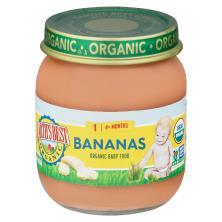 Earths Best Organic Bananas, 2 (6 Months+)