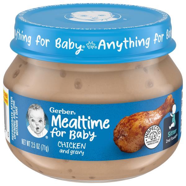 Gerber 2nd Foods Chicken & Chicken Gravy