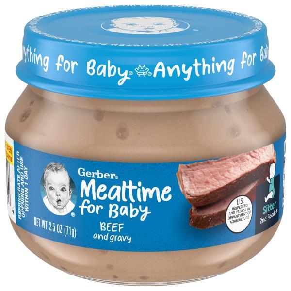 Gerber 2nd Foods Beef and Gravy, Sitter