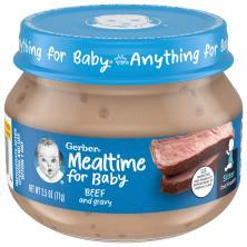 Gerber 2nd Foods Beef & Beef Gravy