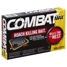 Combat Max Roach Killing Bait, Child-Resistant Bait Stations