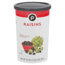 Publix Raisins, California
