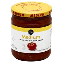 Publix Salsa, Thick and Chunky, Medium