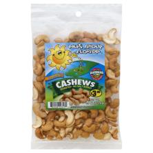 Nuts About Florida Cashews, No Salt Added, Roasted