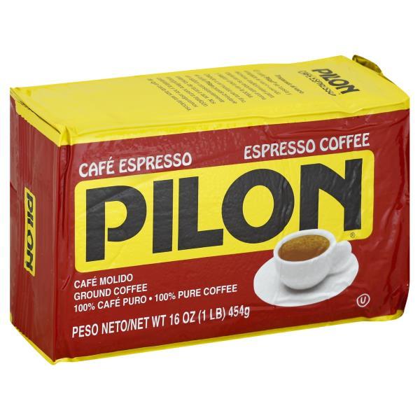 Pilon Coffee Ground Espresso