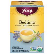 Yogi Bedtime, Caffeine Free, Tea Bags