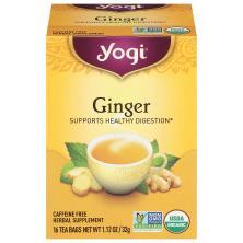 Yogi Tea, Ginger, Bags