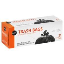 Publix Trash Bags, with Flap-Ties Closure System, 30 Gallon
