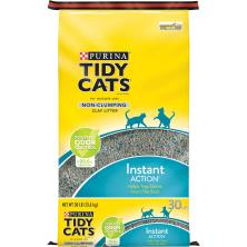 Tidy Cats Instant Action Cat Litter, Non-Clumping, for Multiple Cats