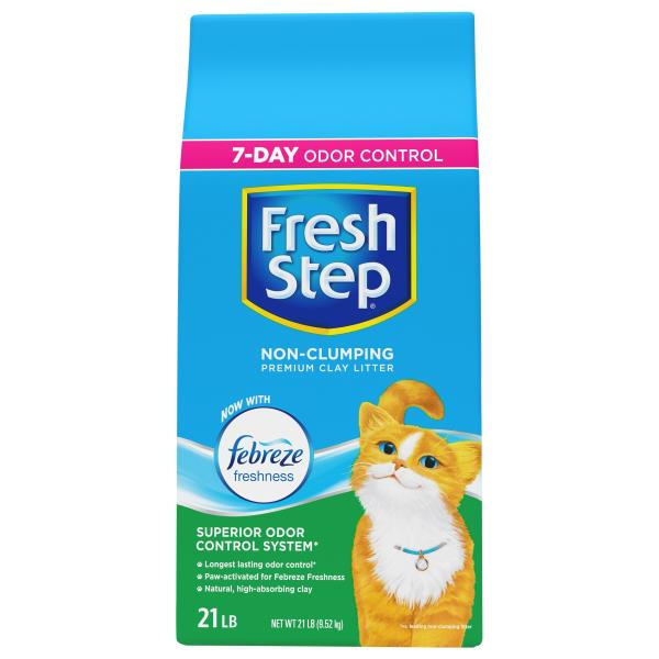 Fresh Step Cat Litter, Clay, Extreme