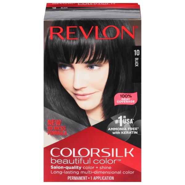 Colorsilk Beautiful Color Permanent Color Black 10 Publix