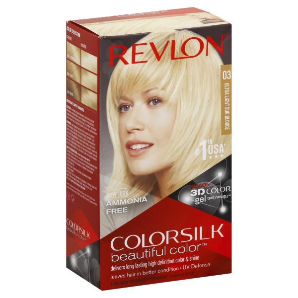 Revlon Colorsilk Beautiful Color Permanent Color Ultra Light Sun