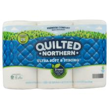 Quilted Northern Bathroom Tissue, Unscented, 2-Fly