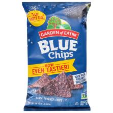 Garden of Eatin Tortilla Chips, Corn, Blue Chips