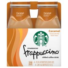 Starbucks Frappuccino Coffee Drink, Chilled, Caramel