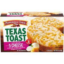 Pepperidge Farm Texas Toast, Five Cheese