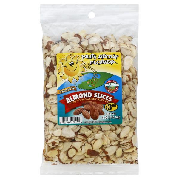 Nuts About Florida Almond Slices
