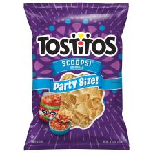 Tostitos Scoops Tortilla Chips, Party Size!