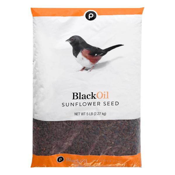 Publix Sunflower Seed, Black Oil