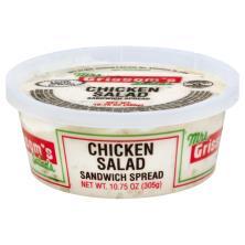 Mrs Grissoms Salads Sandwich Spread, Chicken Salad