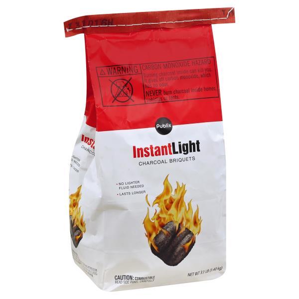 Publix Charcoal Briquets, Instant Light
