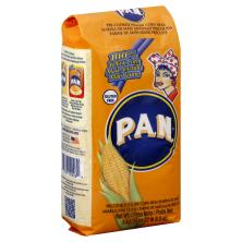 PAN Corn Meal, Pre-Cooked, Yellow