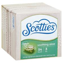 Scotties Facial Tissue, with Aloe Lotion, 3 Ply