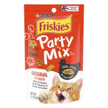 Friskies Party Mix Cat Treats, Crunch, Original