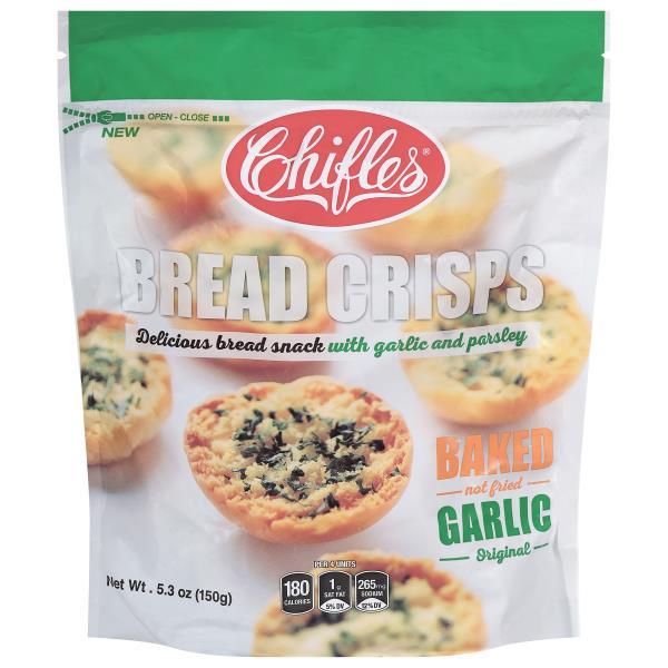 Valentina Bread, Garlic Crisp