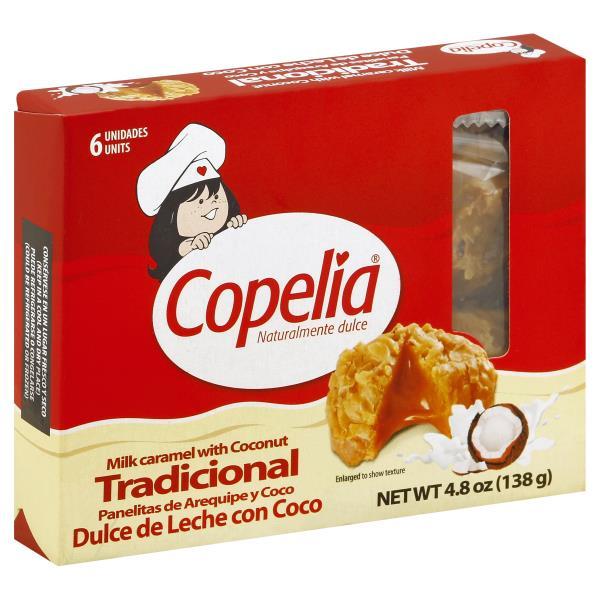 Copelia copelia milk caramel, with coconut, tradicional : publix