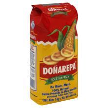 Donarepa Corn Flour, Yellow, Precooked