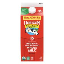 Horizon Organic Milk, Organic, Whole