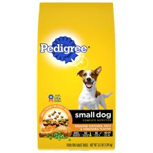Pedigree Food for Adult Dogs, Roasted Chicken, Rice & Vegetable Flavor, Small Dog
