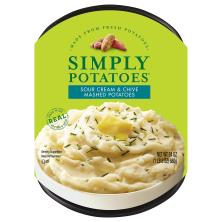 Simply Potatoes Mashed Potatoes, Sour Cream & Chive
