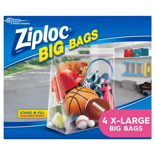Ziploc Bags Xl 10 Gallon