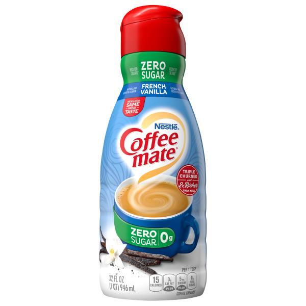 Coffee Mate Coffee Creamer, French Vanilla, Sugar Free