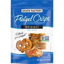 Pretzel Crisps Pretzel Crackers, Deli Style, Original