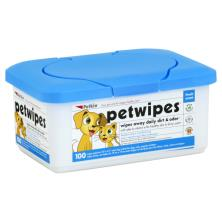 Petkin Pet Wipes, Super Premium, for Dogs, Cats, Puppies & Kittens, Fresh Scent