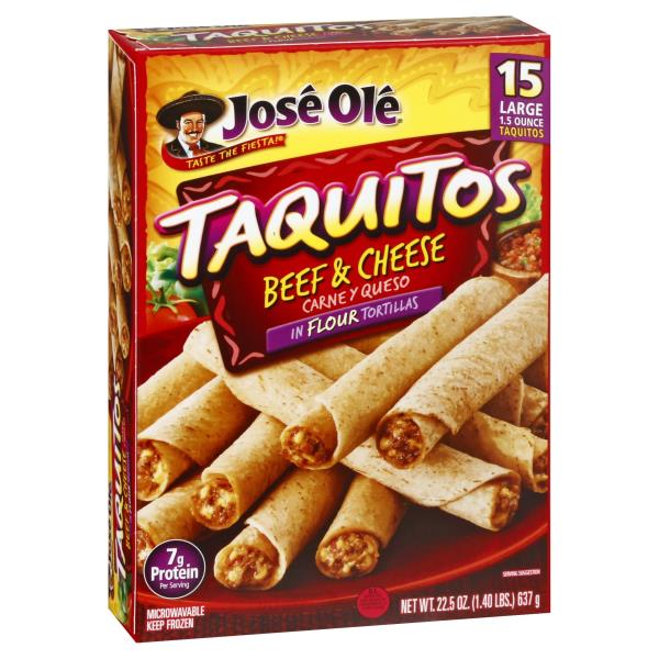 Jose Ole Taquitos, Steak & Cheese